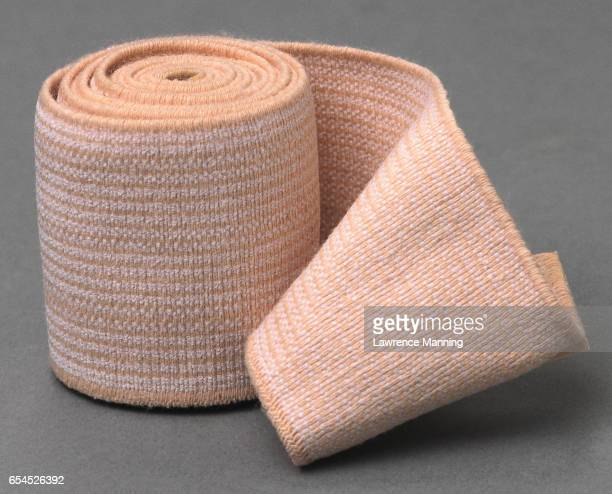 bandage - elastic bandage stock photos and pictures