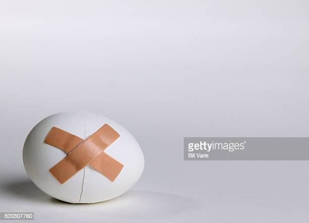 Bandaged Egg