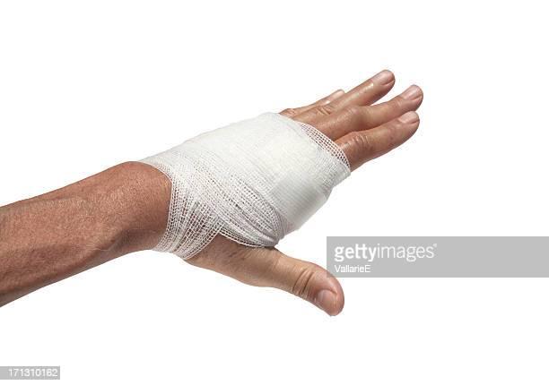 Bandage la main
