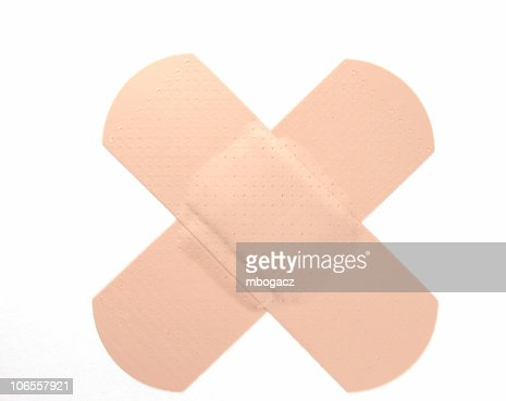 Band Aid Alphabet Stock Photo Getty Images