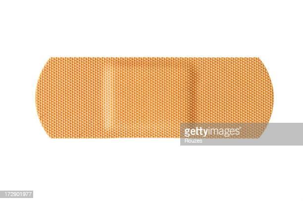 bandaid - esparadrapo fotografías e imágenes de stock