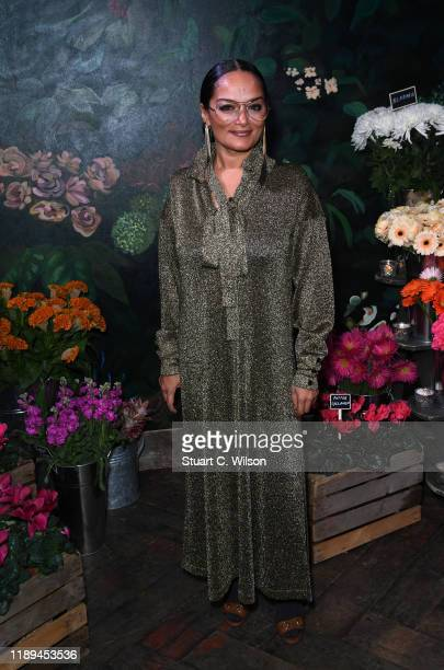 Bandana Tewari attends the gala dinner in honour of Edward Enninful winner of the Global VOICES Award 2019 during #BoFVOICES on November 22 2019 in...