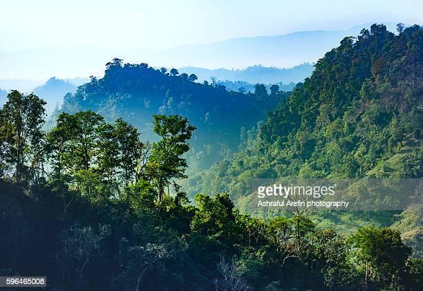 bandarban chittagong hill tracts bangladesh - bangladesh nature stock photos and pictures