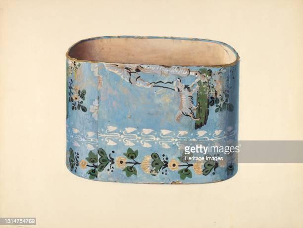 Bandbox, c. 1938. Artist Charles Caseau.