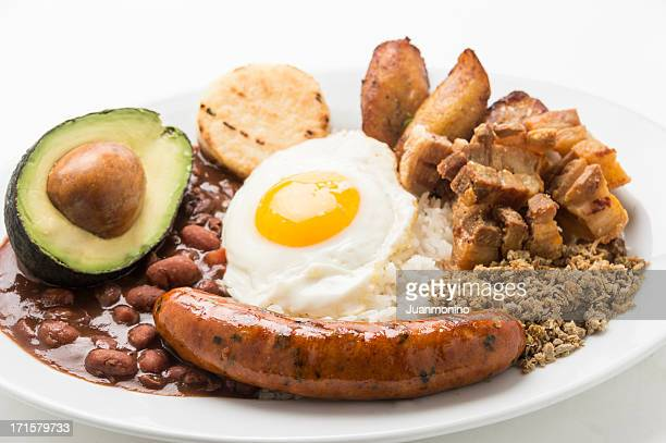 Bandeja Paisa (colombian food)