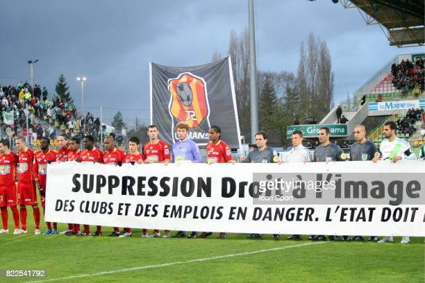 Banderole Suppression DIC Le Mans / Saint Etienne 15eme journee de Ligue 1
