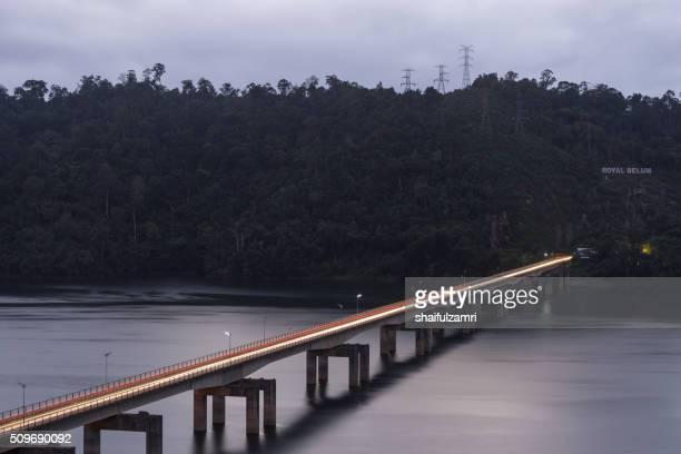 banding bridge in royal belum state park - shaifulzamri stock pictures, royalty-free photos & images