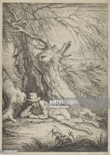 Bandit Beneath a Tree, 1795-1801. Artist Raphael Lamar West.
