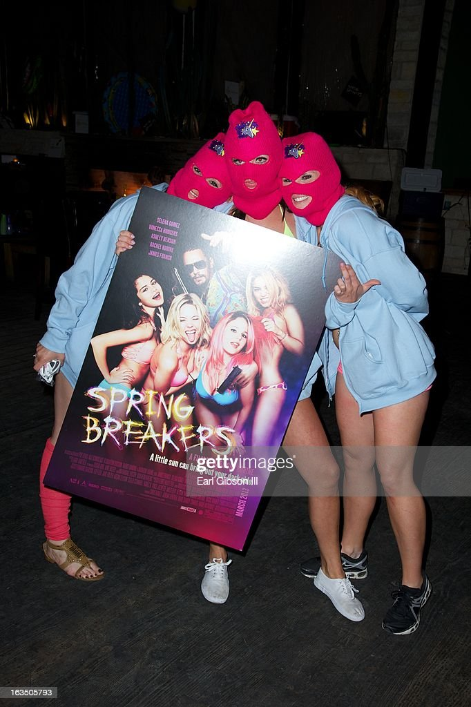 Bandit Spring Breakers attend 'The Branding Bee Presents The World Premiere After-Party Of 'Spring Breakers' Live From The Hive at The Ranch on March 10, 2013 in Austin, Texas.