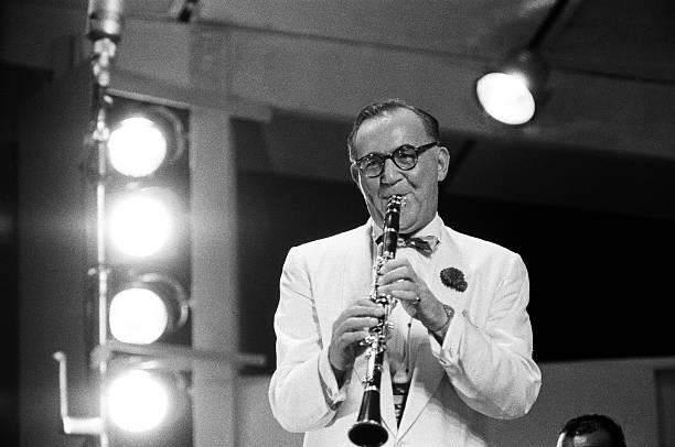 Benny Goodman Performs At The Newport Jazz Festival