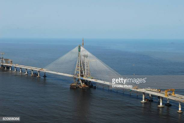 Bandra worli sea link known rajiv gandhi bridge, Bombay Mumbai, Maharashtra, India