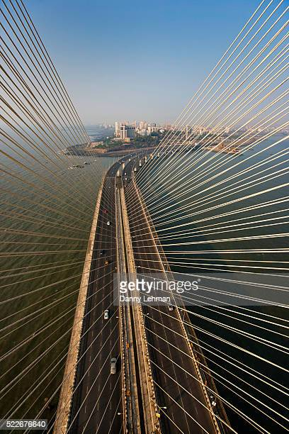 Bandra-Woril Sea Link (BWSL) Bridge, a Cable-stayed bridge and Mumbai's newest Icon