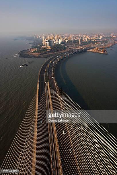 Bandra-Woril Sea Link (BWSL) Bridge, a Cable-stayed bridge and Mumbai's newest Icon