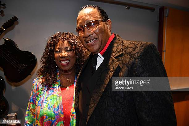 S Band's Mary Davis and Dr Bobby Jones attend the NMAAM 2016 Black Music Honors on August 18 2016 in Nashville Tennessee