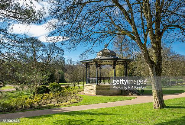 Bandstand in the Pavilion gardens, Buxton