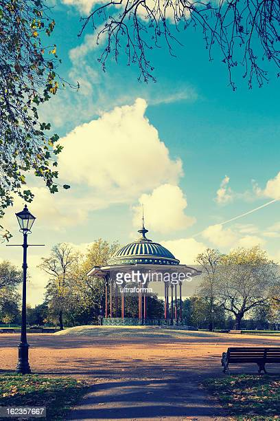 bandstand - clapham common stock pictures, royalty-free photos & images