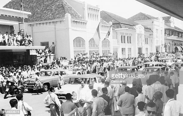 Bandung Java Indonesia From morning till midnight Bandung is crowded by thousands of Indonesians who try to catch a glimpse of the delegates to the...