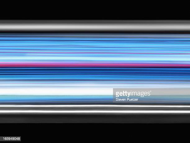 bandwidth and data - light trail stock pictures, royalty-free photos & images