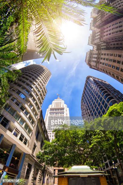 banespa building - são paulo stock pictures, royalty-free photos & images