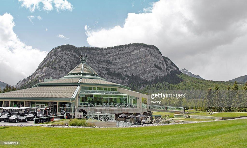 Banff Golf Course Club House : Stock Photo