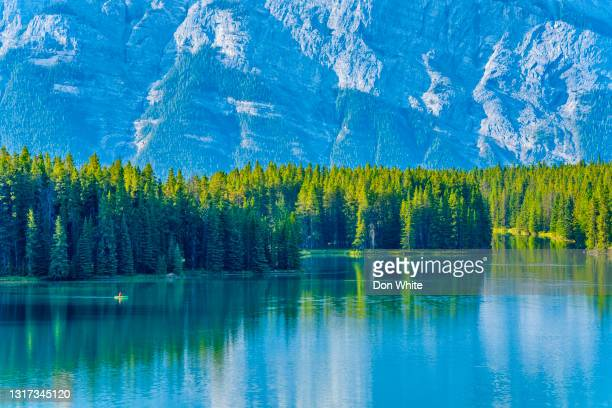 banff national park in alberta canada - unesco world heritage site stock pictures, royalty-free photos & images