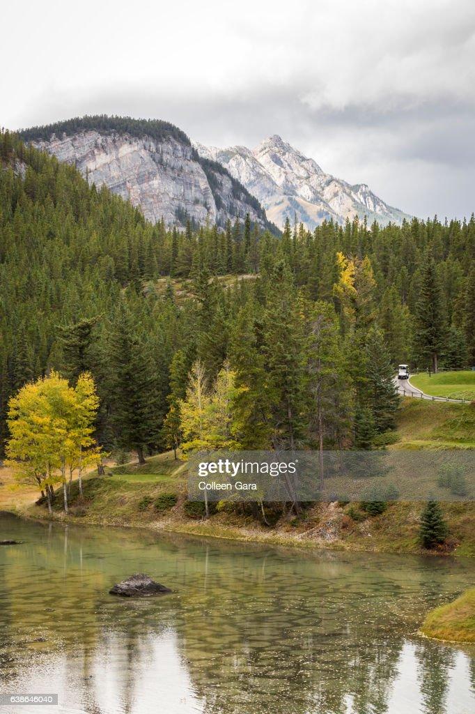 Banff Springs Golf Course, Banff National Park : Stock Photo