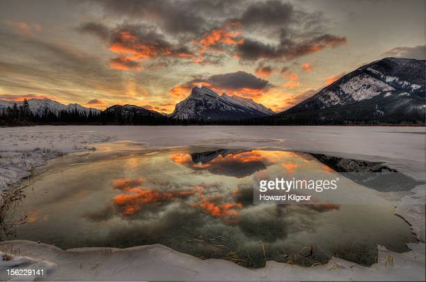 Banff Winter Sunrise