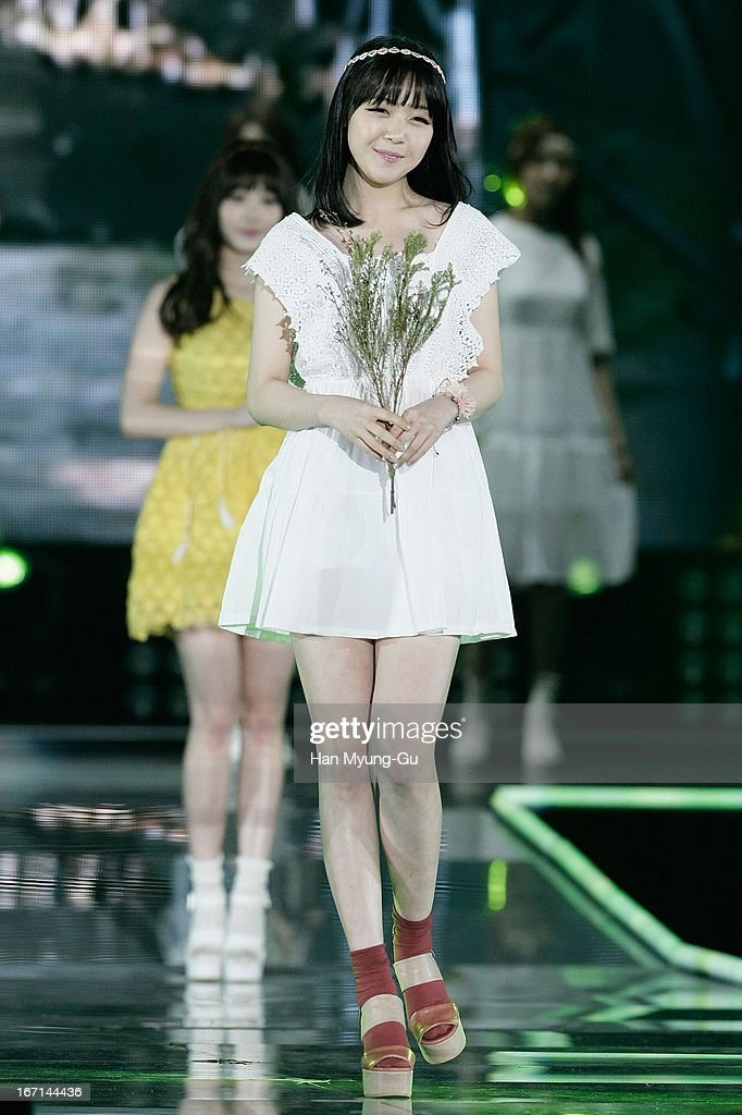 Bang Min-Ah Of South Korean Girl Group Girls Day Showcases During Day News Photo -3943