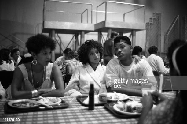 AIR 'Bang the Drum Ashley' Episode 2 Air Date Pictured Director Debbie Allen Karyn Parsons as Hilary Banks Will Smith as William 'Will' Smith Photo...