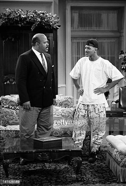 AIR Bang the Drum Ashley Episode 2 Air Date Pictured James Avery as Philip Banks Will Smith as William 'Will' Smith Photo by Alice S Hall/NBCU Photo...