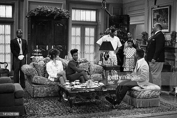 AIR Bang the Drum Ashley Episode 2 Air Date Pictured Joseph Marcell as Geoffrey Karyn Parsons as Hilary Banks Janet Hubert as Vivian Banks Will Smith...