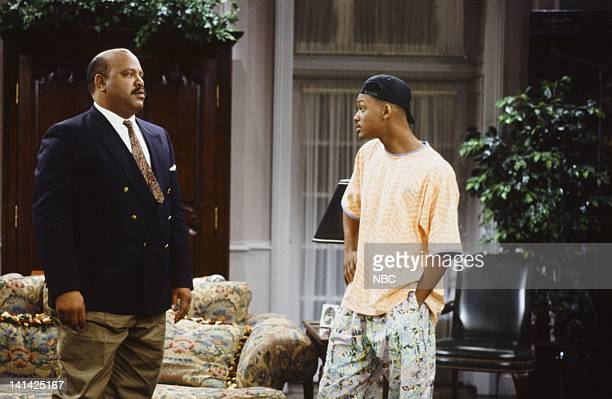 AIR Bang the Drum Ashley Episode 2 Pictured James Avery as Philip Banks Will Smith as William 'Will' Smith Photo by Alice S Hall/NBCU Photo Bank