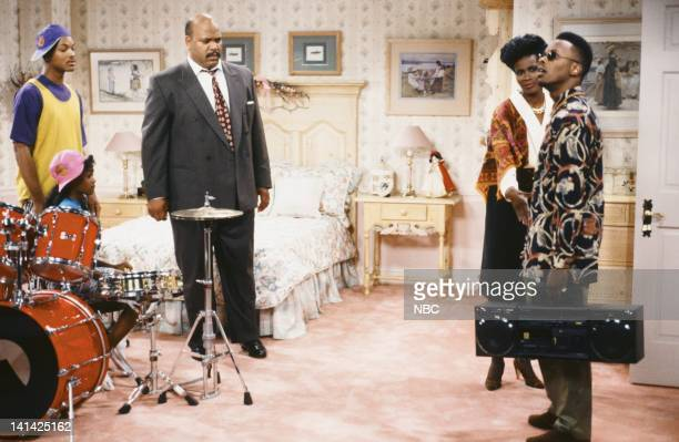 AIR Bang the Drum Ashley Episode 2 Pictured Will Smith as William 'Will' Smith Tatyana Ali as Ashley Banks James Avery as Philip Banks Janet Hubert...