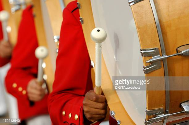 bang the drum slowly - marching band stock pictures, royalty-free photos & images