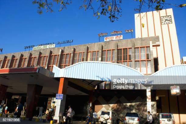 Bangalore city railway station, Karnataka, India