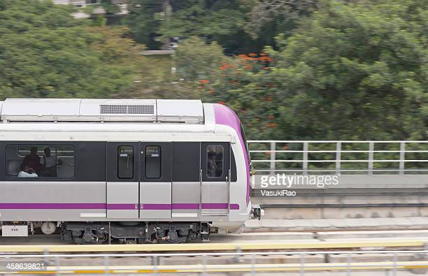 bangalore metro, india - underground rail stock pictures, royalty-free photos & images