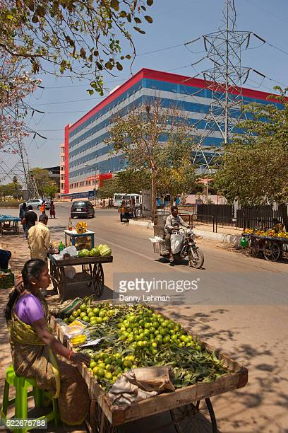 Bangalore's Information Technology Park - Bangalore is also known as the Silicon Valley of India