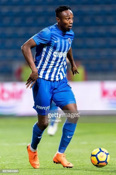BangalyFodé Koita of Kasimpasa AS during the Turkish Spor Toto Super Lig match between Kasimpasa AS and Antalyaspor AS at the Recep Tayyip...