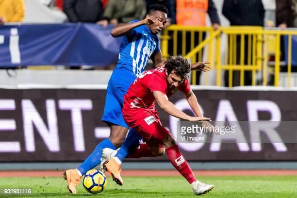 BangalyFodé Koita of Kasimpasa AS Sakib Aytaç of Antalyaspor AS during the Turkish Spor Toto Super Lig match between Kasimpasa AS and Antalyaspor AS...