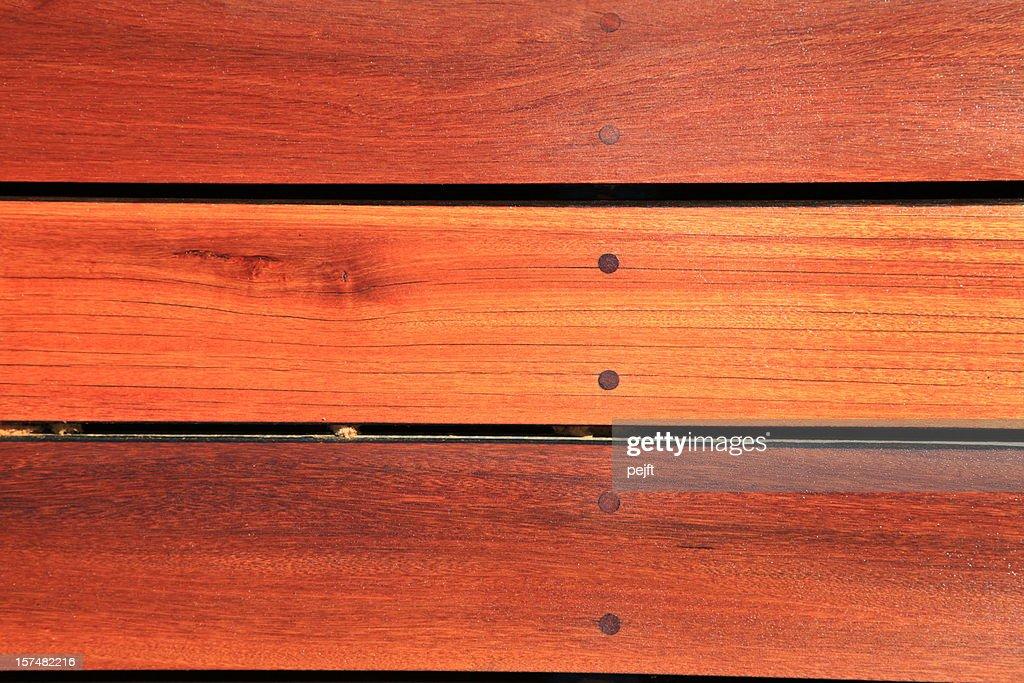 Bangkirai Hardwood decking : Stock Photo