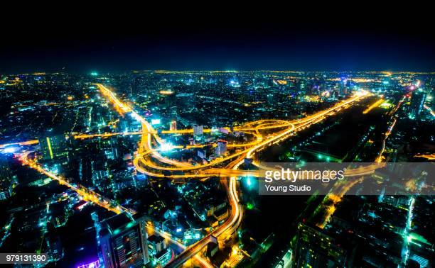 bangkok city - studio city stock pictures, royalty-free photos & images
