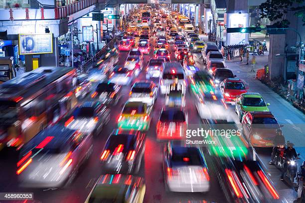 Bangkok City Traffic @ Night