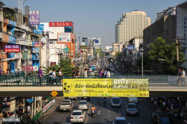 Bangkok daily life pictures of the city center Bangkok is the capital of the Kingdom of Thailand The estimated population is more than 14000000...