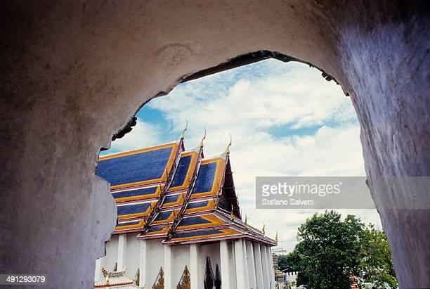 Bangkok, detail of Royal Palace