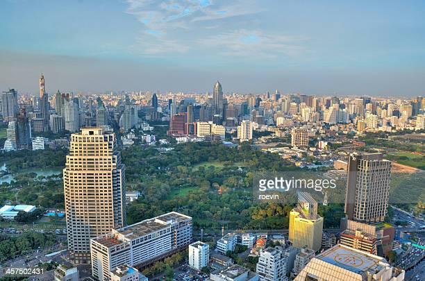 Bangkok park view