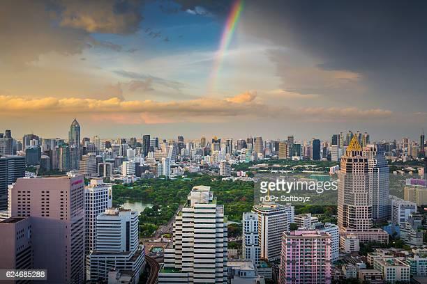 bangkok rainbow - nopz stock pictures, royalty-free photos & images