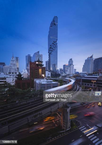 ฺBangkok skyline