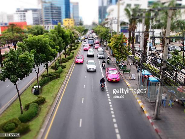 Bangkok sStreet, Diorama