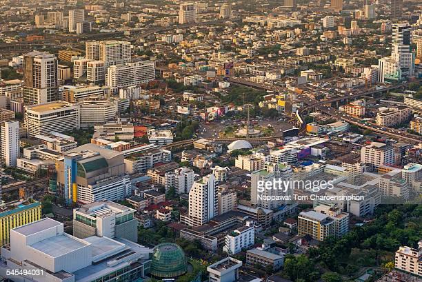 Bangkok Thailand Arial View