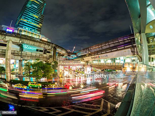 bangkok, thailand - vehicle light stock pictures, royalty-free photos & images